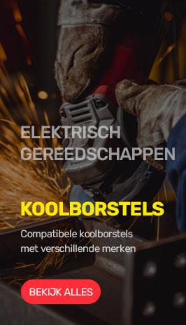 Koolborstels elektr. gereedschappen